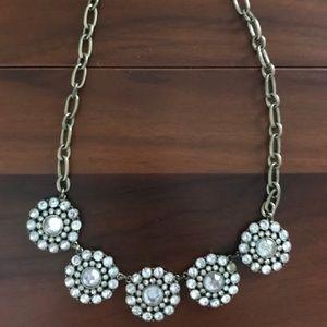 Jcrew Diamond Necklace